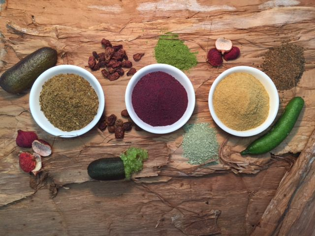 Australian native herbs and spices